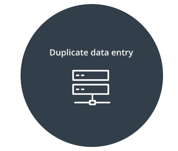 Duplicate Data Entry